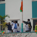Independence day celebrations in Akshara campus.