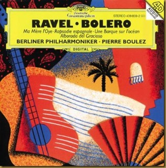 Ravel Rapsodia  Boulez Berlín