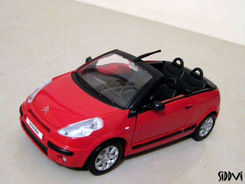 auto diecast scale models citroen c3 pluriel cabriolet auto diecast models. Black Bedroom Furniture Sets. Home Design Ideas