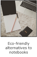 guest post - eco-friendly alternatives to notebooks - rhodia and clairefontaine