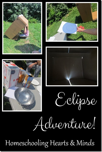 Our Homeschool Eclipse Adventure