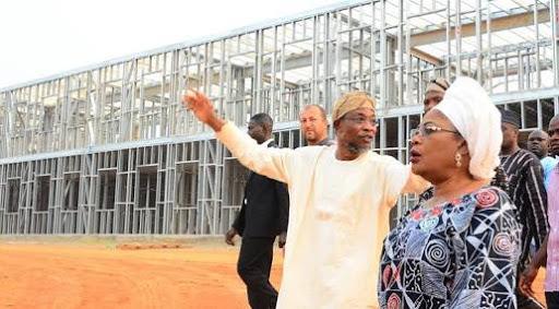 Ilesa Government High School under construction