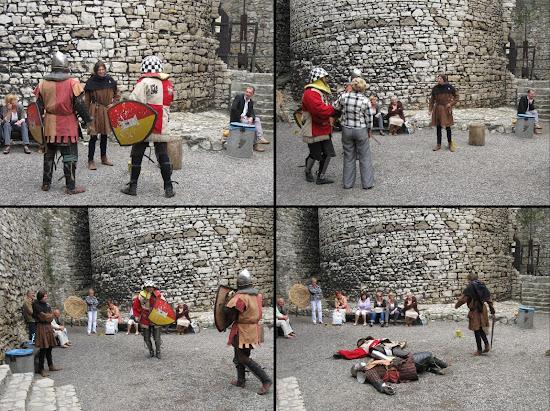 zamek będzin inscenizacja rycerska