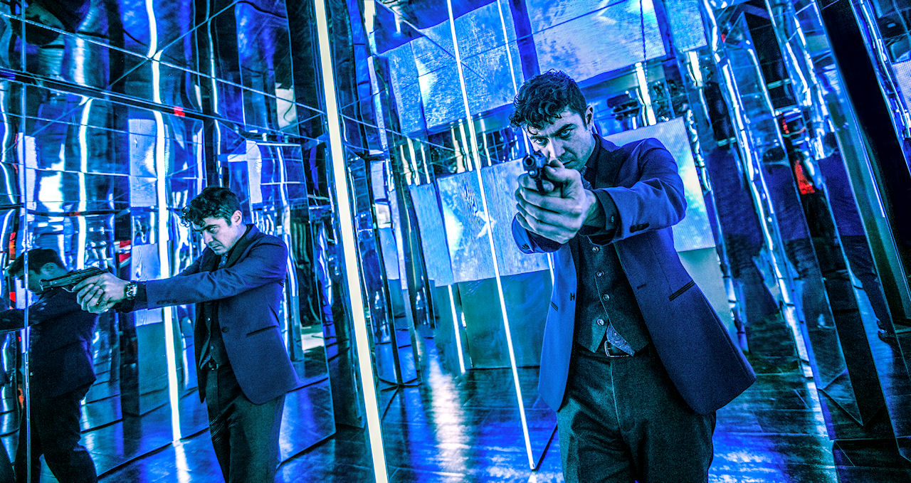 Riccardo Scamarcio stars as 'Santino D'Antonio'  in JOHN WICK: CHAPTER 2. (Photo by Niko Tavernise / courtesy of Lionsgate).