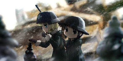 تقرير انمي Shoujo Shuumatsu Ryokou (رحلة الفتيات الاخيرة)