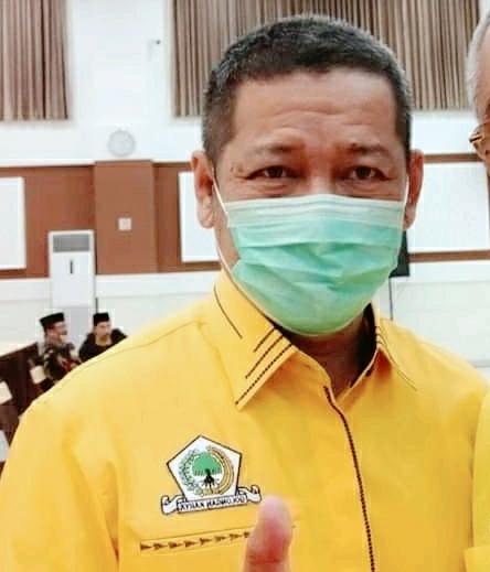 Ketua Fraksi Partai Golkar, Dariyanto Meminta Maaf Kepada Tamu Undangan Tentang Penundaan Musda