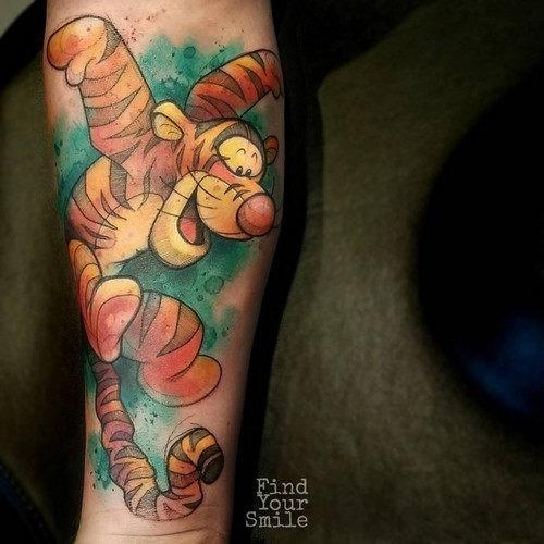 este_divertido_tigre_tatuagem