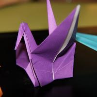Folding Paper Cranes with JSA