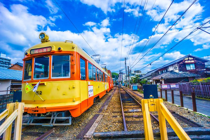 道後温泉駅 引き上げ線1