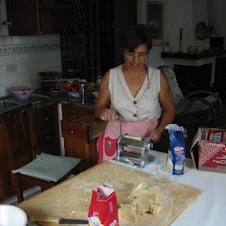 Italy: Cooking with Vittoria & Paola in Villa Viani - 7/19/2002