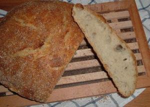 Brot für Knetfaule - no-knead-bread