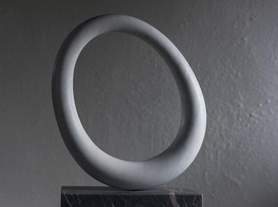 Achill: CARRARA MARBLE, 2016: W 47cm, H 63 cm, D 10 cm; £7,200