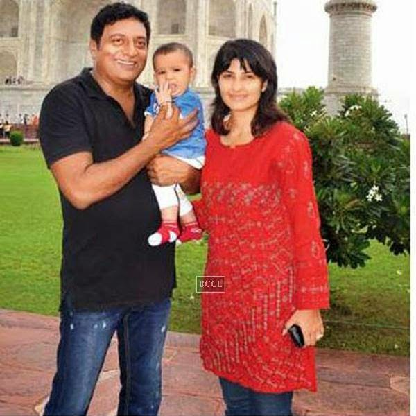 Prakash Raj was married to south actress Lalitha Kumari and they have three children, two daughters, Meghana and Pooja and a son Sidhu (deceased). After their divorce, the kids live with Lalitha.