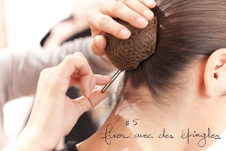A Piece of Glam, L'art du chignon selon Repetto