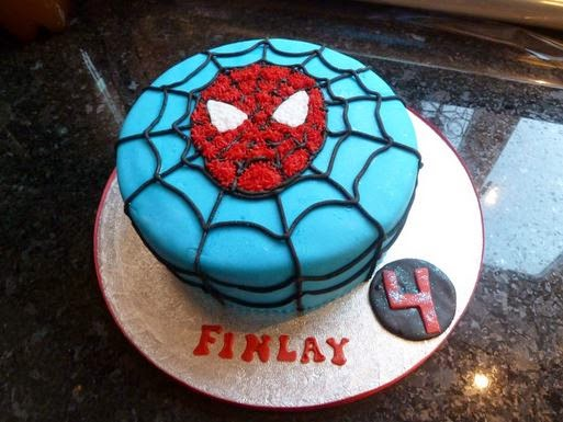 Spiderman Birthday Cakes