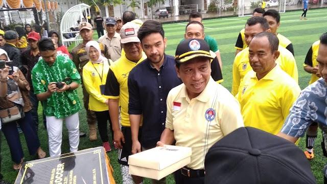 Menpora Zainuddin Support Perkembangan Olahraga Kalsel
