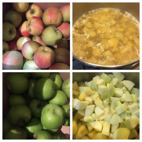 Apple, ginger and lime jam