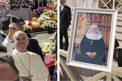 """She's in heaven"" – Pope Francis on Mother Angelica"