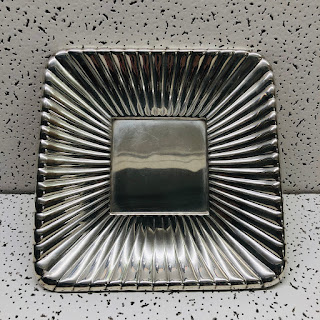 Sterling Silver Reed and Barton Square Tray