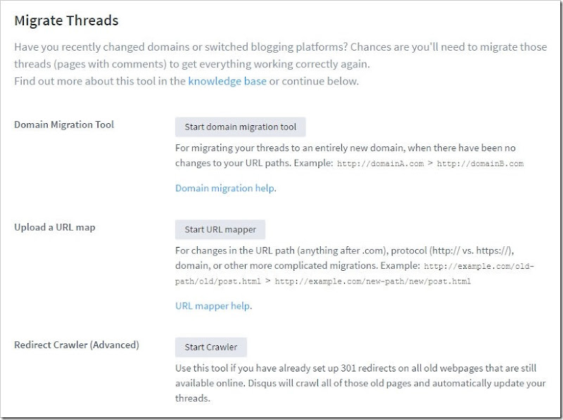 disqus migrate threads feature