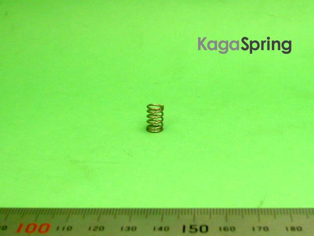 非磁性ステンレス圧縮ばね