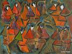 075 - Forum - 1997 80 x 60 - Acrylique sur toile