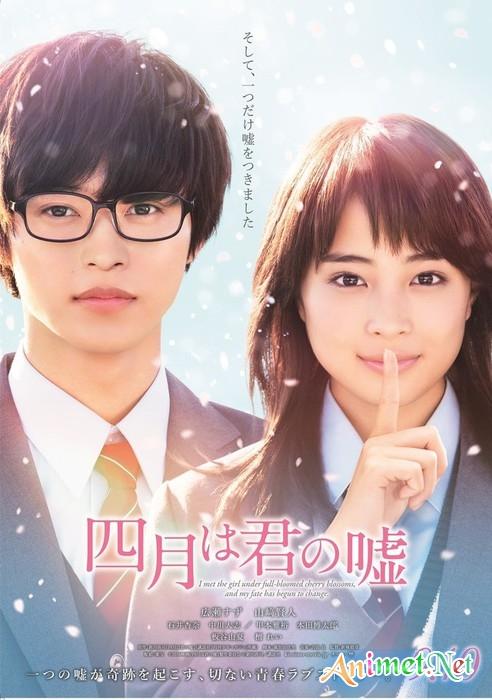 Shigatsu wa Kimi no Uso Live Action - Your Lie in April, Tháng Tư là lời nói dối của em