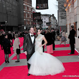 WWW.ENTSIMAGES.COM -   Zrinka Cvitesic; Declan Bennett     at      The Olivier Awards at Royal Opera House, Covent Garden, London, April 28th 2013                                               Photo Mobis Photos/OIC 0203 174 1069