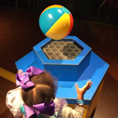 Air Pressure and Gravity  at the Children's Museum at the Fort Worth Museum of Science and History