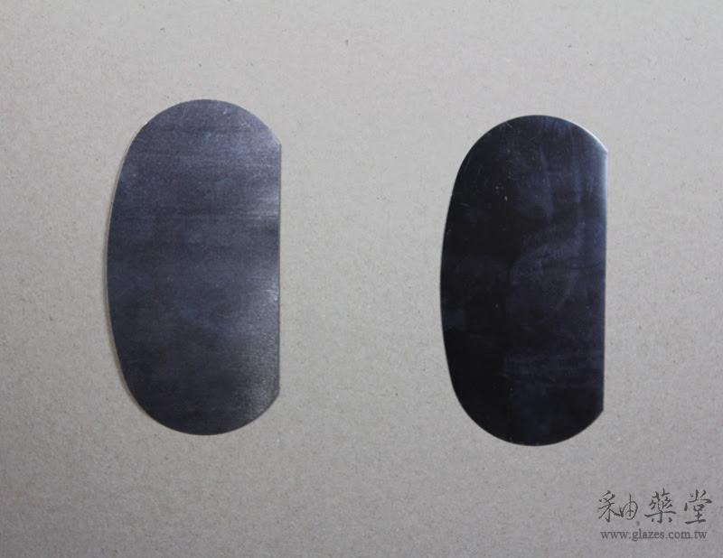 陶藝工具-不銹鋼刮片中國與臺灣製比較