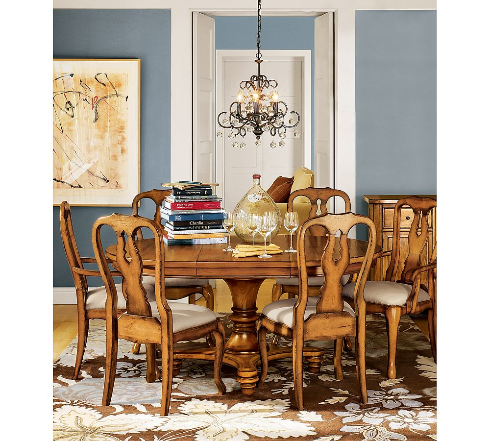 12 devonshire: Bold Dining Room Chairs