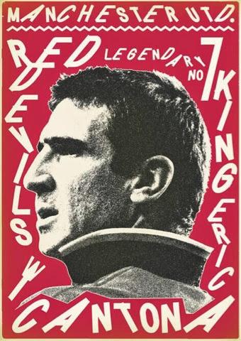 Eric Cantona by Zoran Lucic