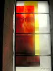 "Bamberg, Synagoge Fenster ""Licht"" 2005"