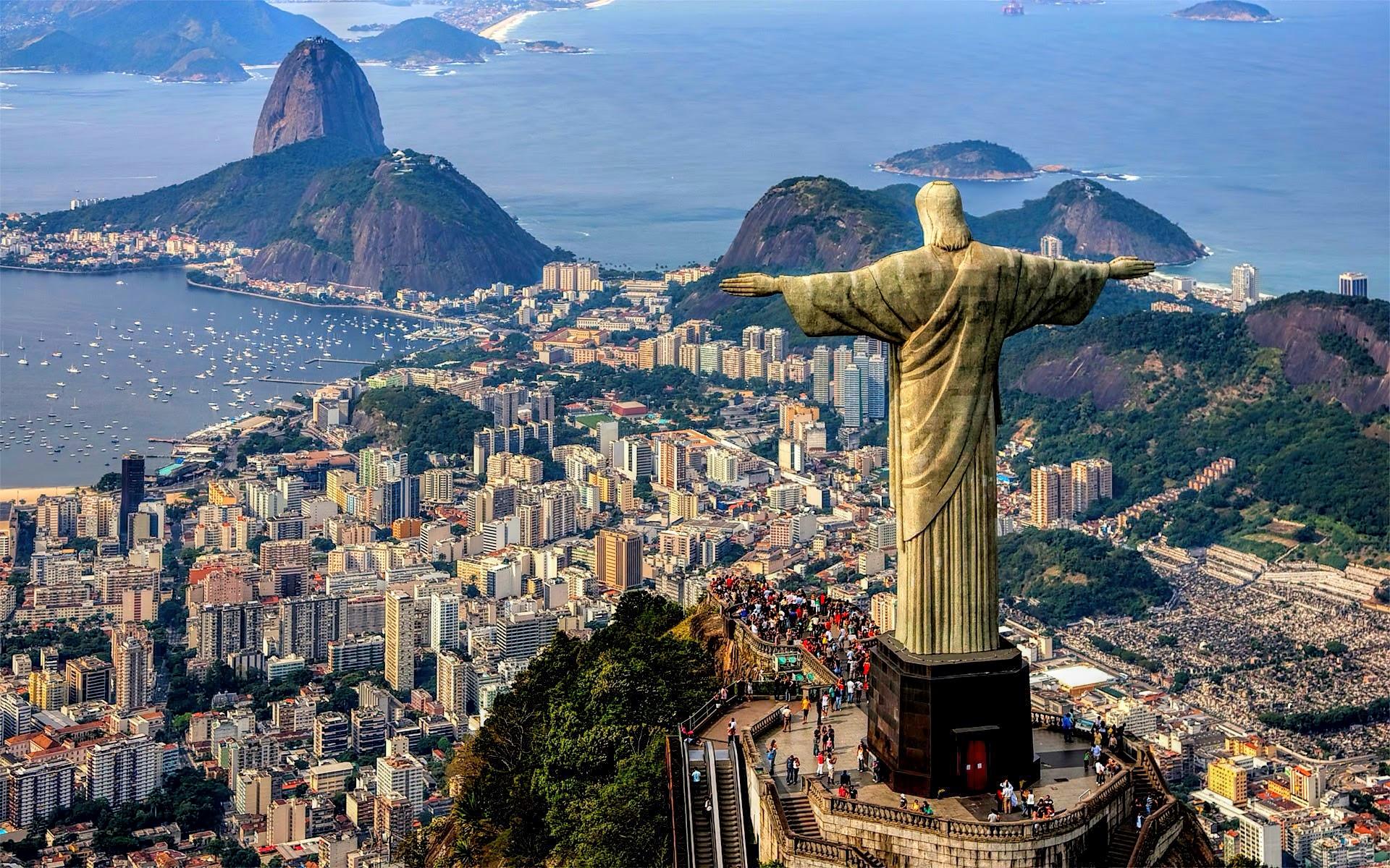 Christ The Redeemer Statue, Rio de Janeiro, Brazil ~ Mystery Wallpaper