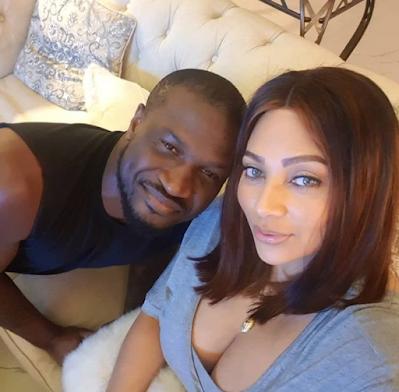 peter okoye and wife