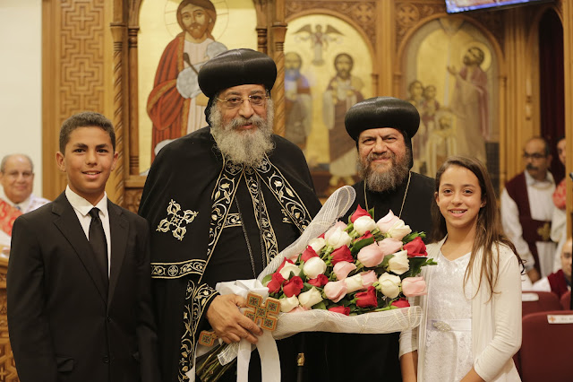 His Holiness Pope Tawadros II visit to St. Mark LA - _09A9195.JPG