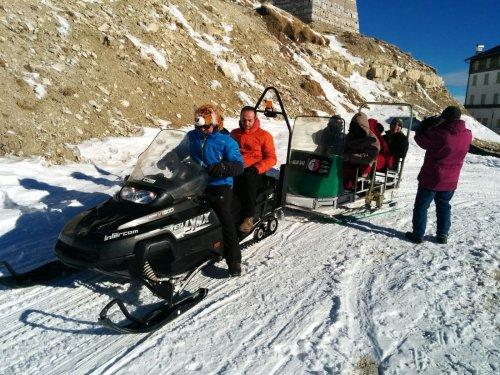 טיול אופנועי שלג, דולומיטים, צפון איטליה