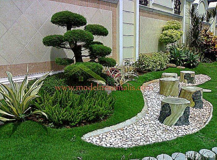 image gallery dekorasi taman