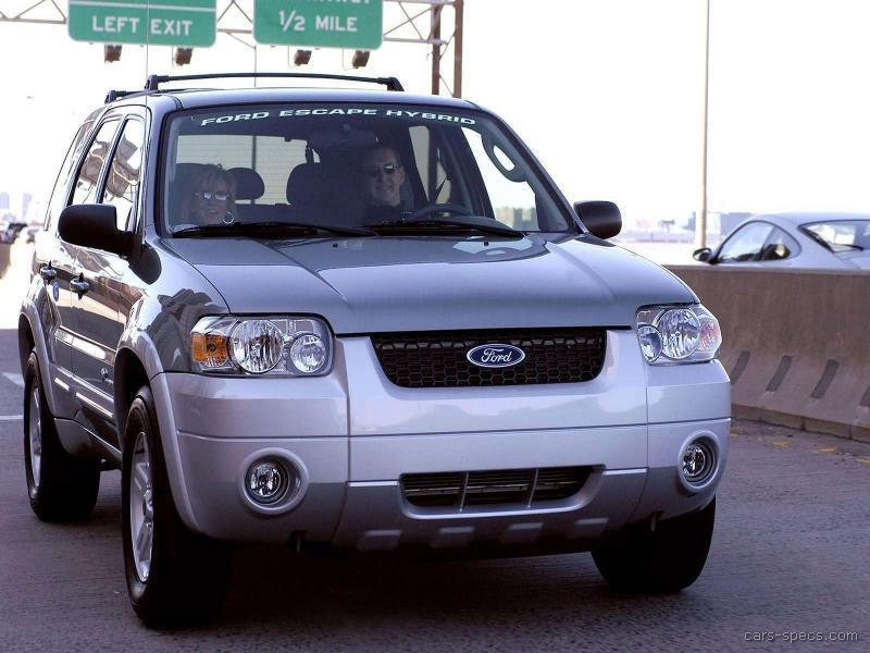 2005 ford escape hybrid specifications pictures prices. Black Bedroom Furniture Sets. Home Design Ideas