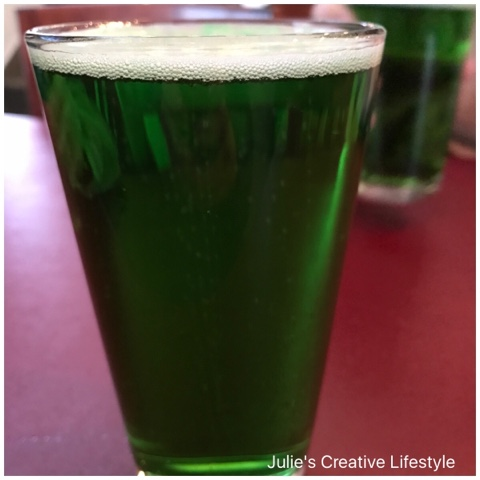 Green Beer - Julie's Creative Lifestyle
