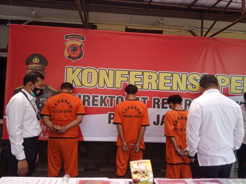 Direktorat Reserse Narkoba Polda Jabar Berhasil Mengungkap Peredaran Narkoba