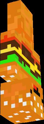 Minecraft burger skin