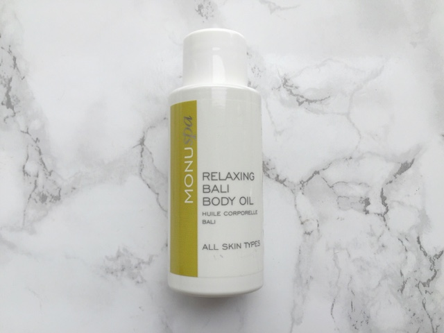 Monu Bali Relaxing Body Oil