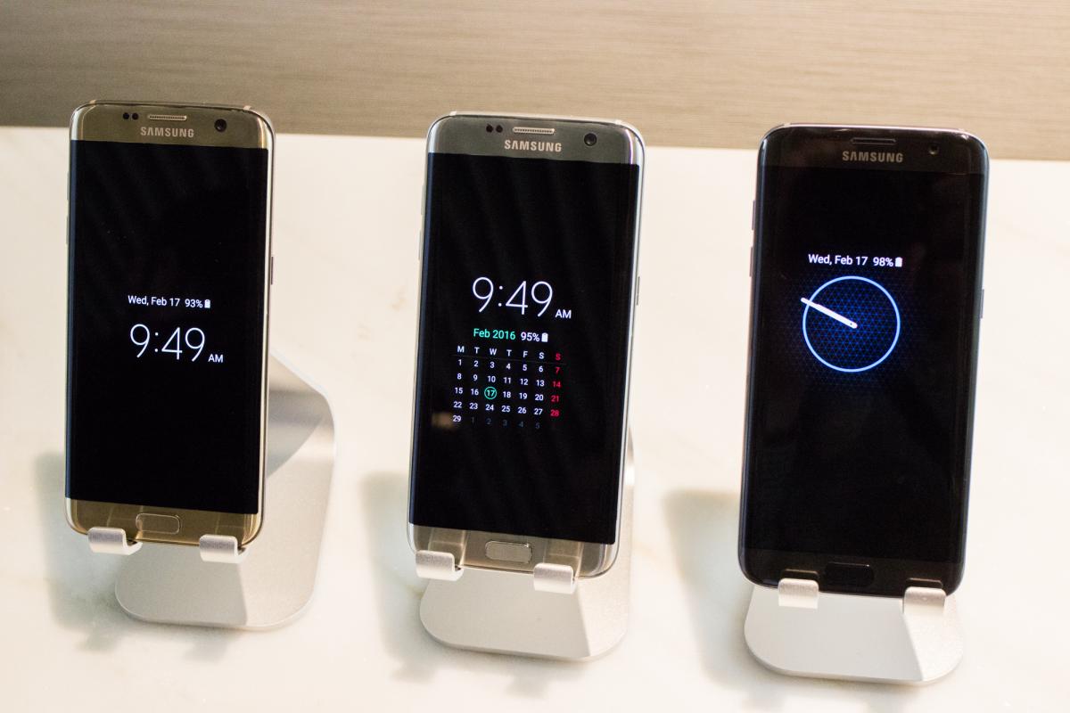 IPHONE 6S VS SAMSUNG S7 EDGE BAGUS MANA