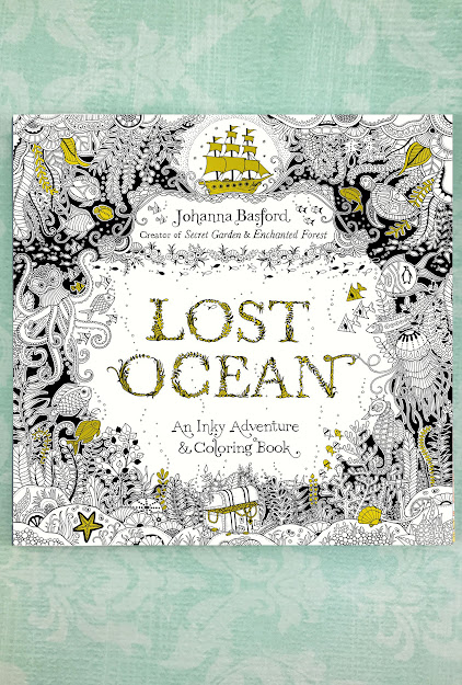 Lost Ocean Adult Coloring Book
