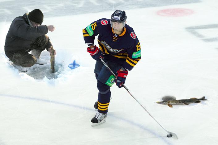 мое знакомство с хоккеем
