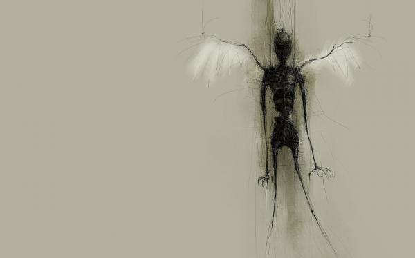 Dark Angel Insect, Evil Creatures