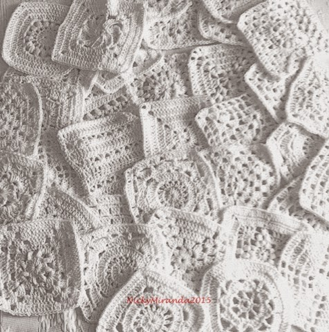 2012 work in progress bucaneve coperta di cotone a for Piastrelle uncinetto filet schemi