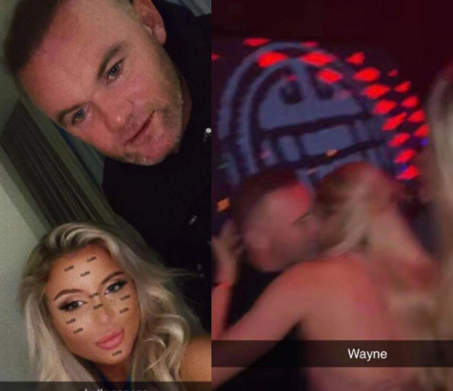 Photos of Wayne Rooney passed out in hotel with semi-naked girls emerges (photos)