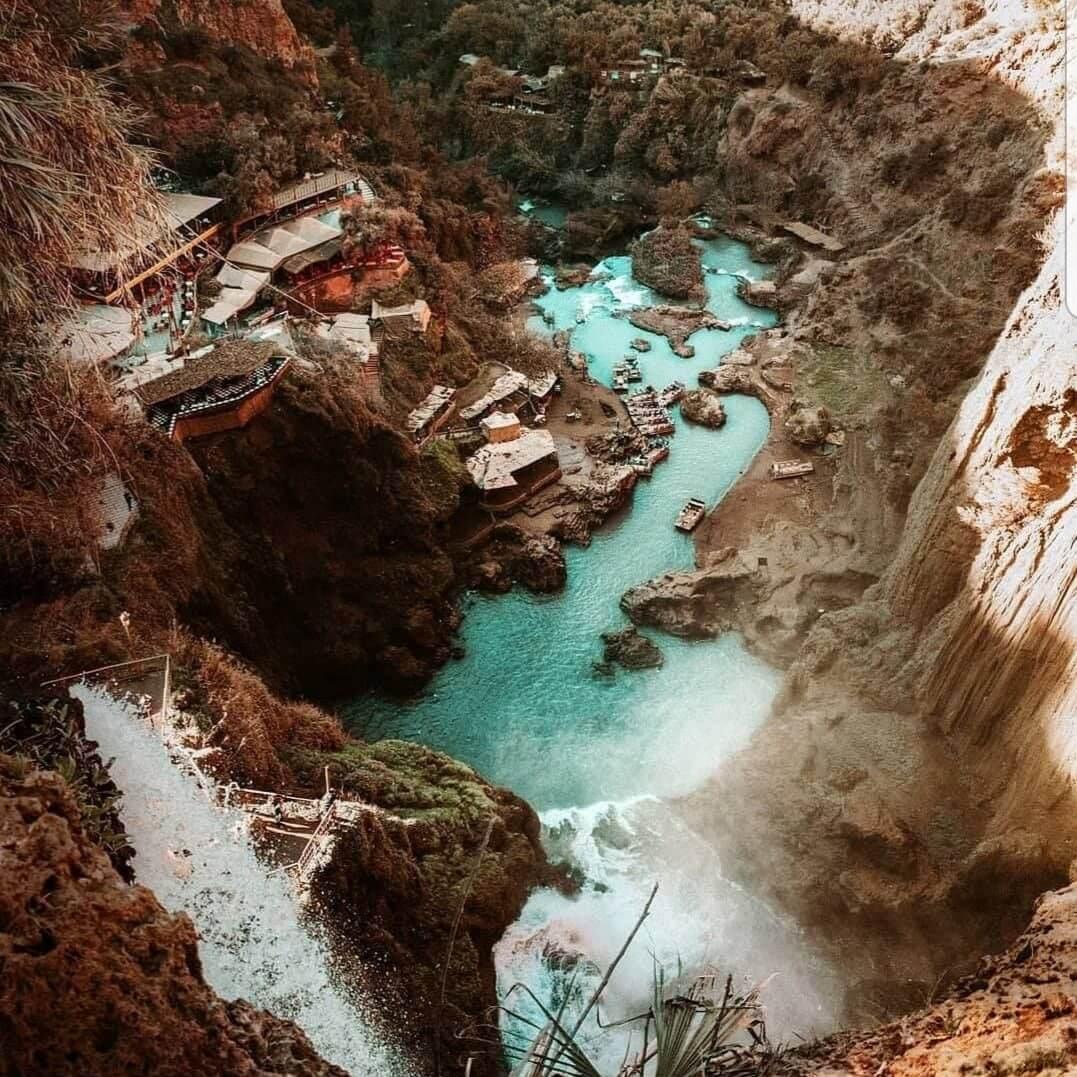 الطبيعة المغربية الخلابة ! شلالات أوزود